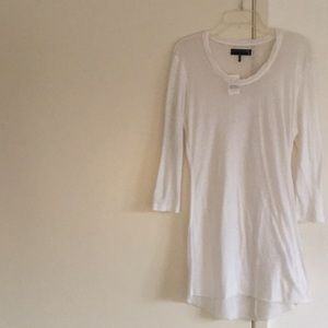 Rag & Bone- Barneys NewYork White sheer cotton top
